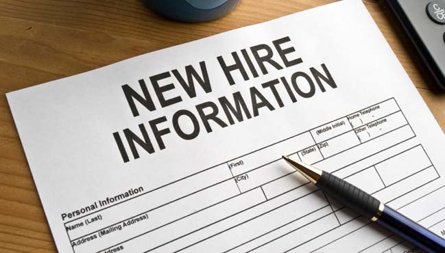 Research papers on new hire training