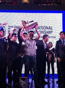 Aldrin Lumaban is PNBC 2014's champion. Photo by Paolo Abellanosa