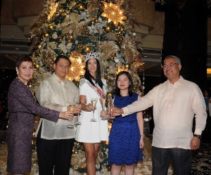 Diamond Hotel Philippines and Cultural Center of the Philippines management. Photo courtesy of Diamond Hotel