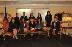 Officers of AHRM. Photo courtesy of AHRM.