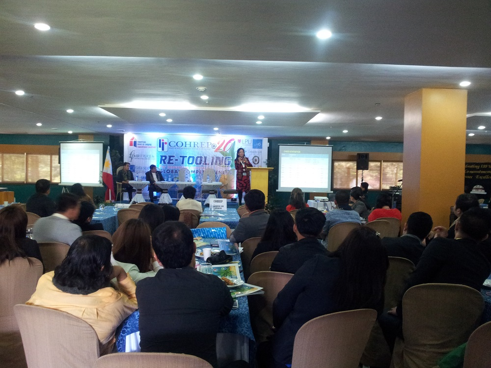 COHREP's annual conference on January 23-24 in Baguio City. Photo by Lorela U. Sandoval