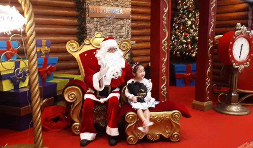 Christmas and New Year's Eve celebrations at City of Dreams Manila