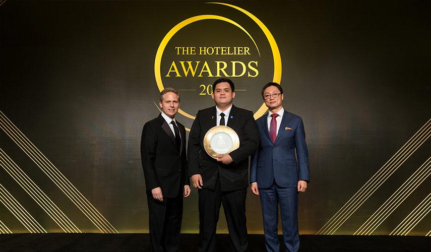 Marriott Hotel employee wins the Hotelier award