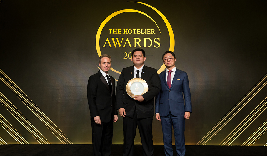 Marriott Hotel employee wins the Hotelier award
