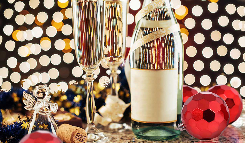 Party in style for the NY's Eve Countdown to 2018 at Diamond Hotel