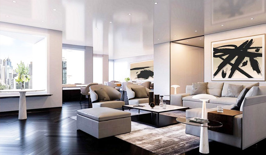 Photo of suite living room at the Murray, Hong Kong