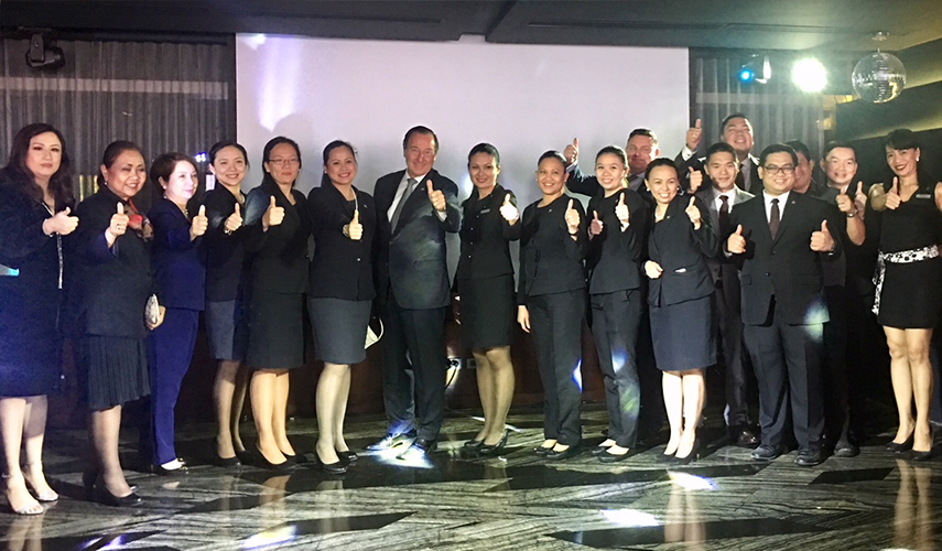 Employees and staff of Marco Polo Ortigas, Manila